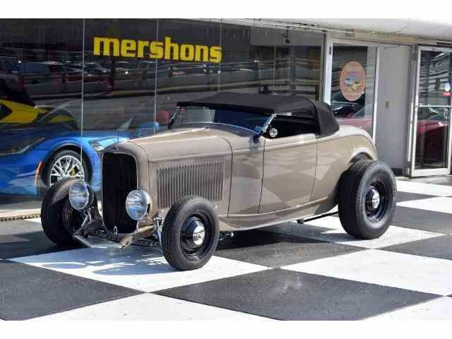 HD Quality Wallpaper | Collection: Vehicles, 640x480 1932 Ford Roadster