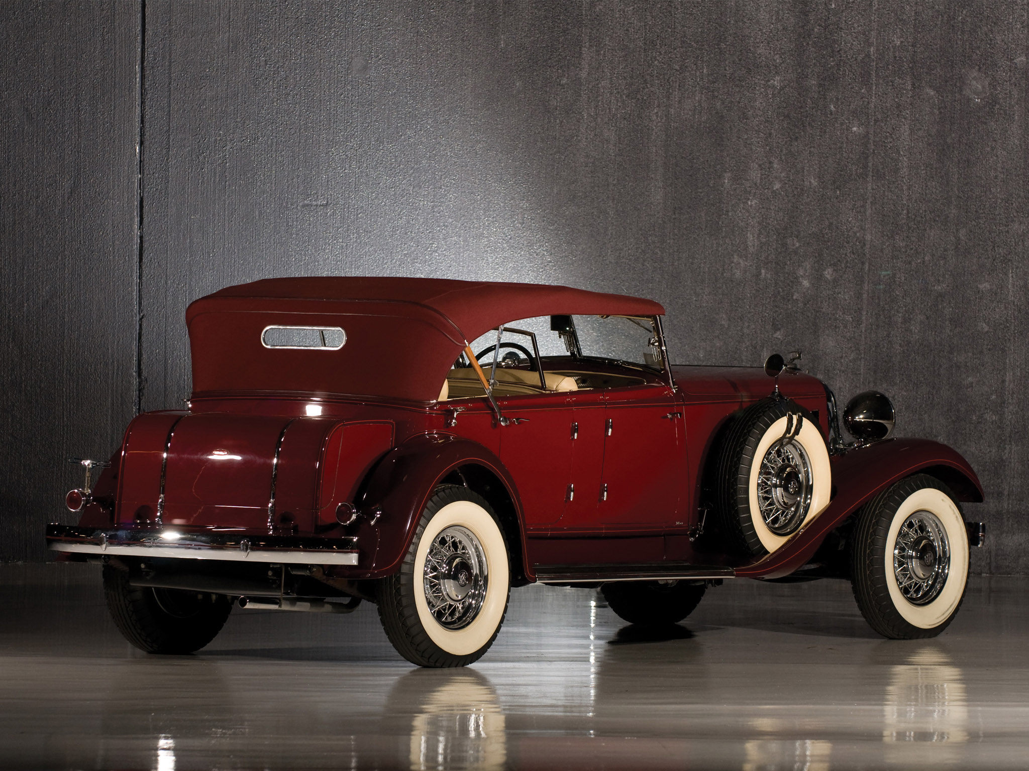 High Resolution Wallpaper | 1933 Chrysler Cl Imperial Sport Phaeton 2048x1536 px