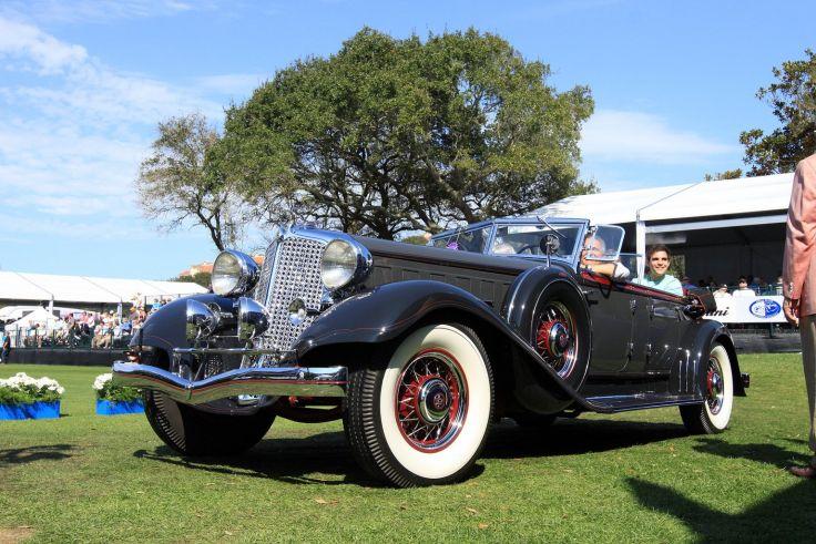 High Resolution Wallpaper | 1933 Chrysler Cl Imperial Sport Phaeton 736x491 px