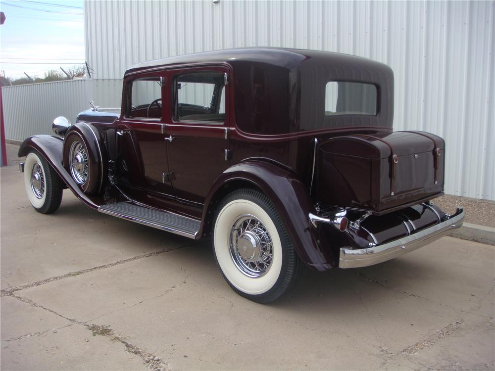Nice wallpapers 1933 Chrysler Imperial 1000x750px