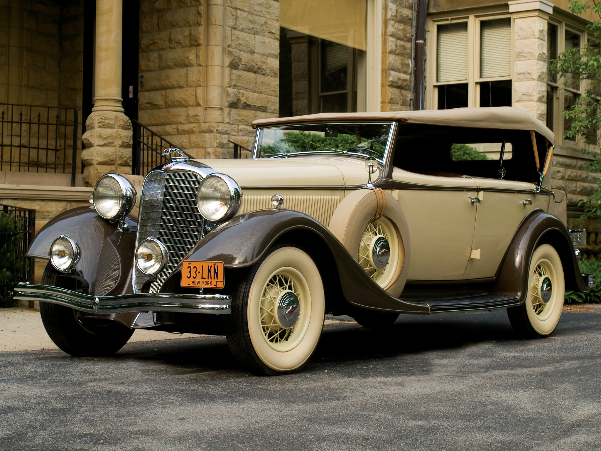 High Resolution Wallpaper | 1933 Lincoln Model Ka 2048x1536 px