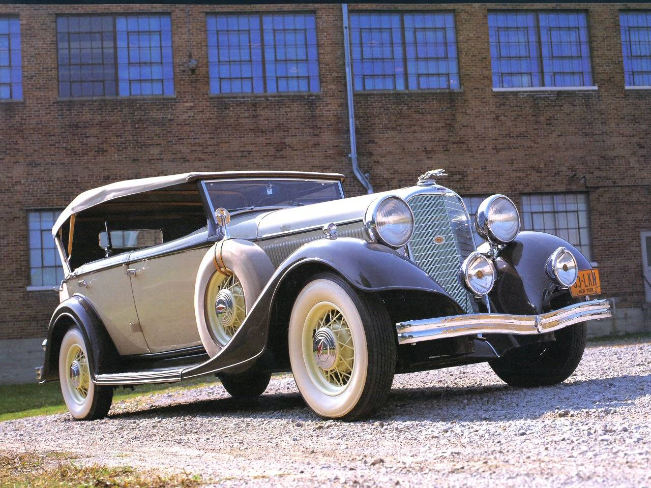 High Resolution Wallpaper | 1933 Lincoln Model Ka 1280x960 px