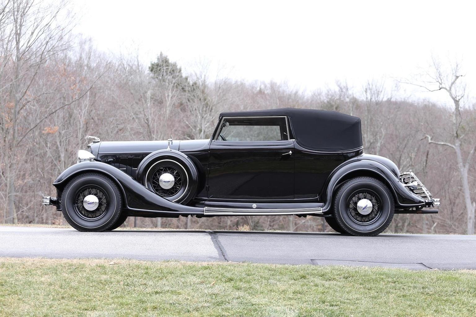 HD Quality Wallpaper | Collection: Vehicles, 1536x1023 1933 Lincoln Model Ka