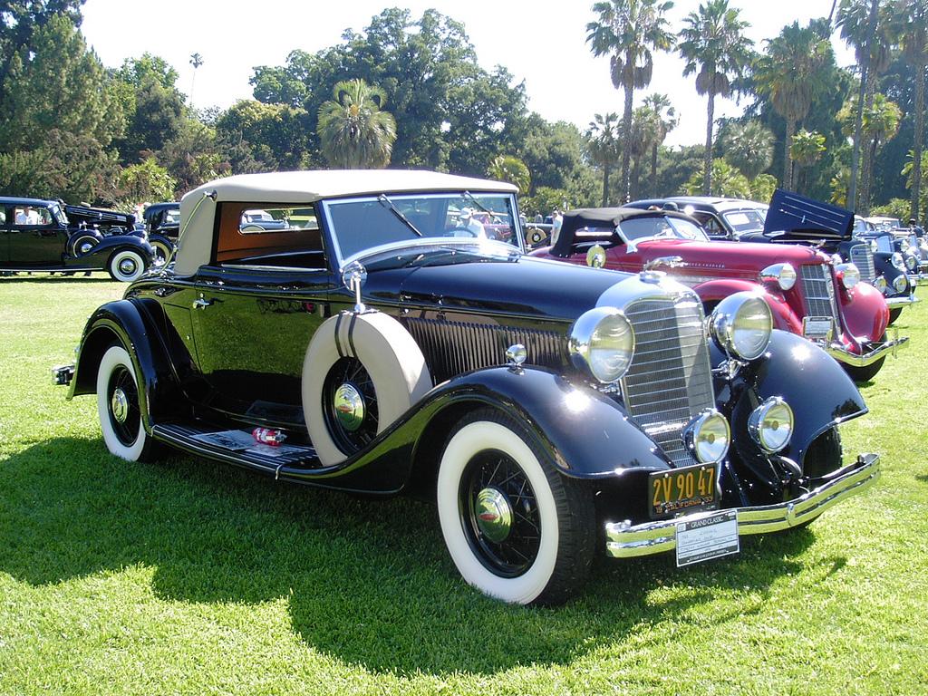 Nice wallpapers 1933 Lincoln Model Ka 1024x768px