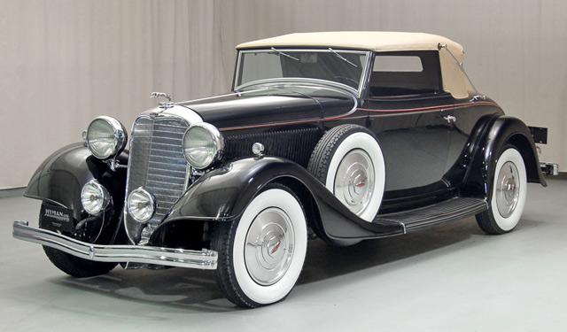 HD Quality Wallpaper | Collection: Vehicles, 640x375 1933 Lincoln Model Ka