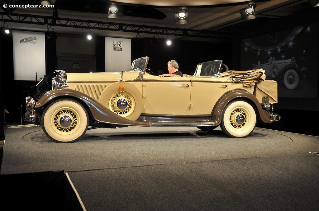 High Resolution Wallpaper | 1933 Lincoln Model Ka 1024x680 px