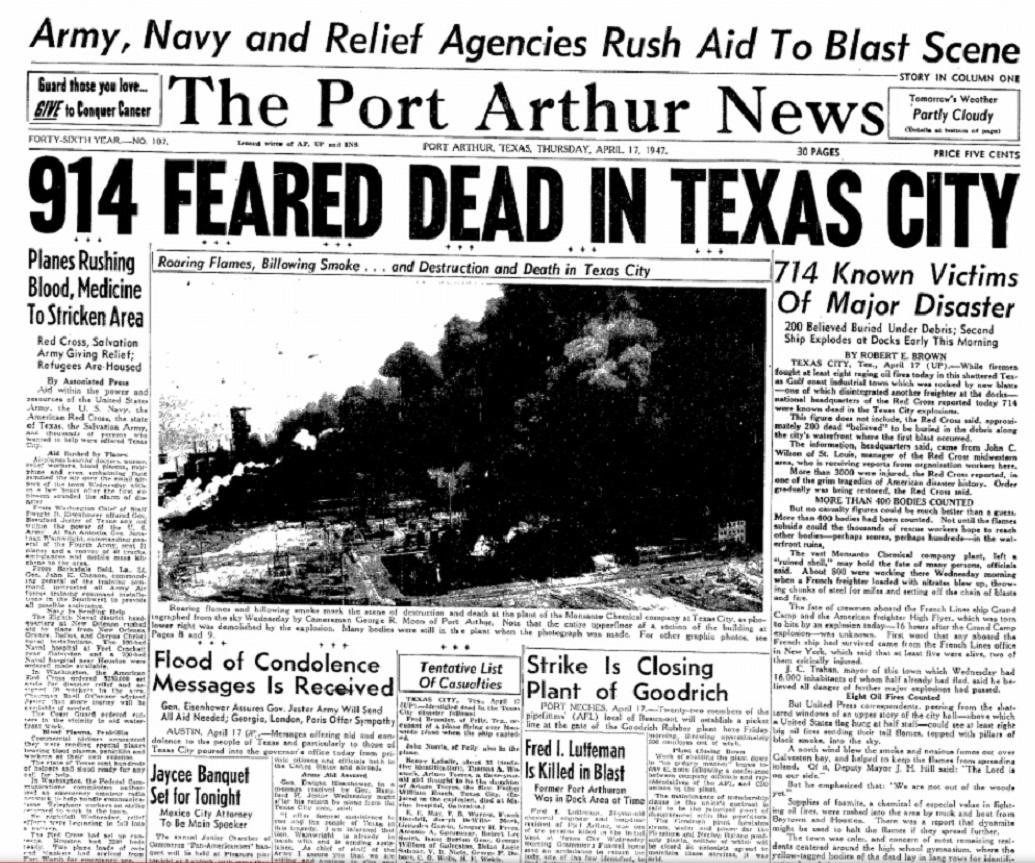 1947 Texas City Disaster #6