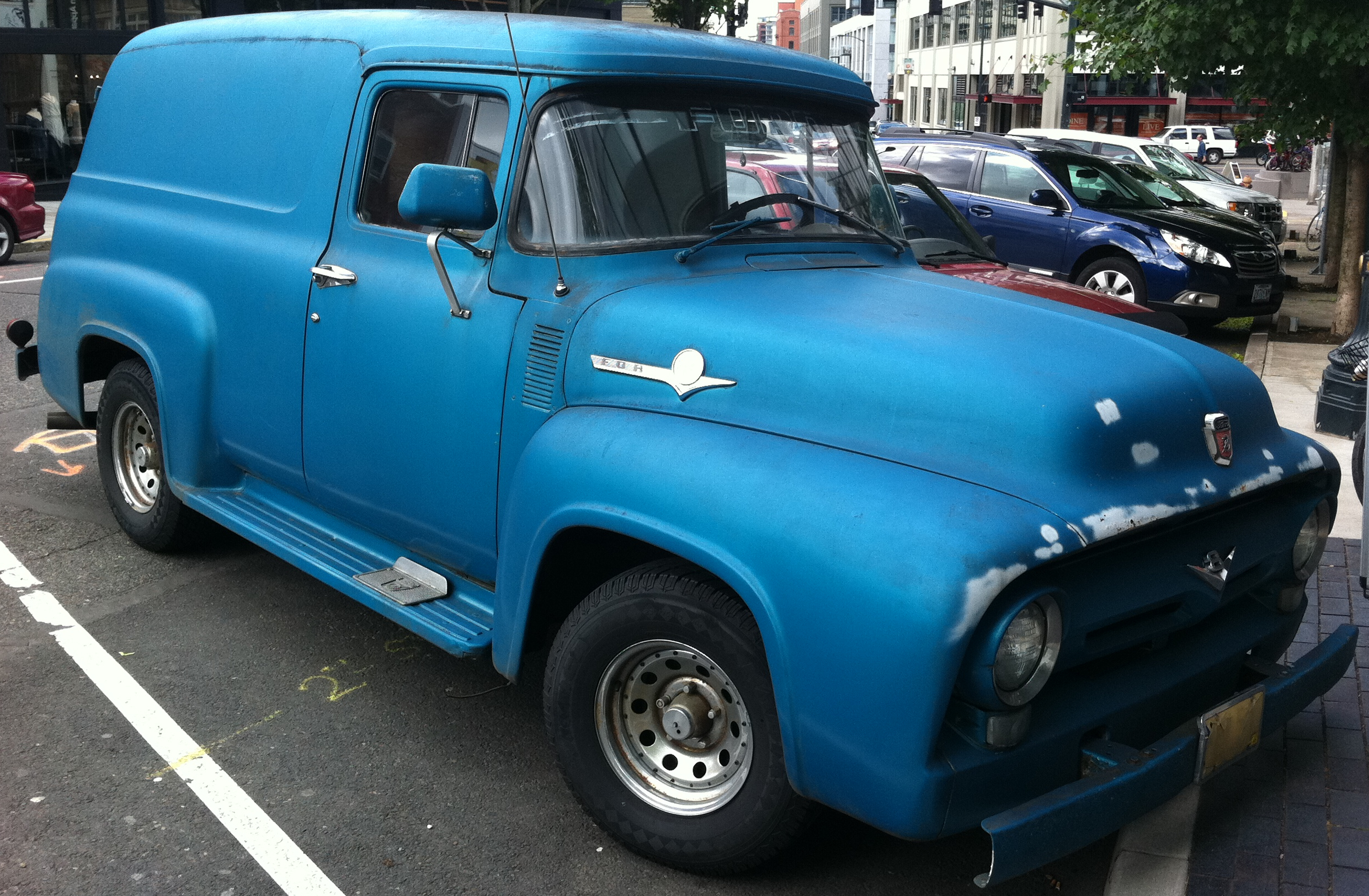 1956 Ford F-100 Panel wallpapers, Vehicles, HQ 1956 Ford F ...  Ford Truck Wiring Diagram on