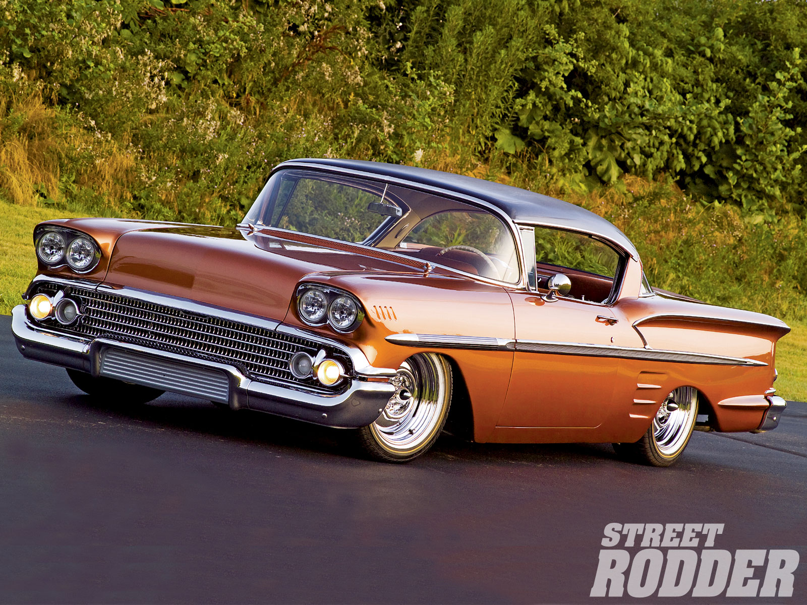 1958 Chevrolet Impala Backgrounds on Wallpapers Vista