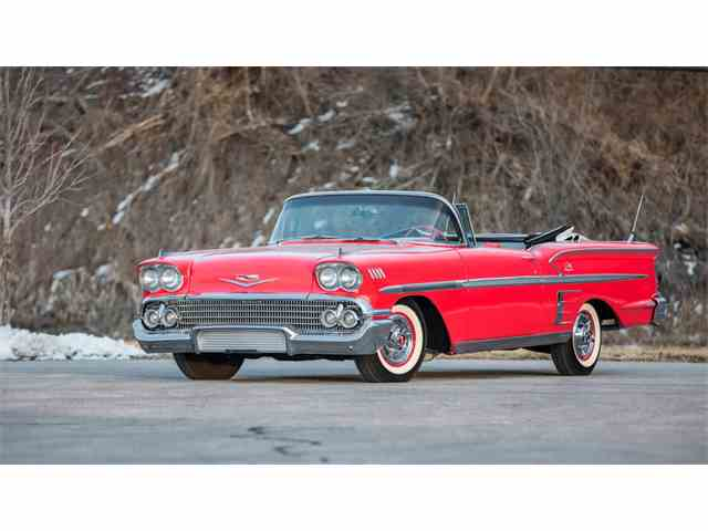 Amazing 1958 Chevrolet Impala Pictures & Backgrounds