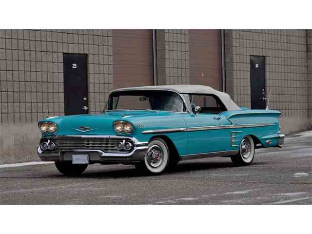Images of 1958 Chevrolet Impala | 640x480