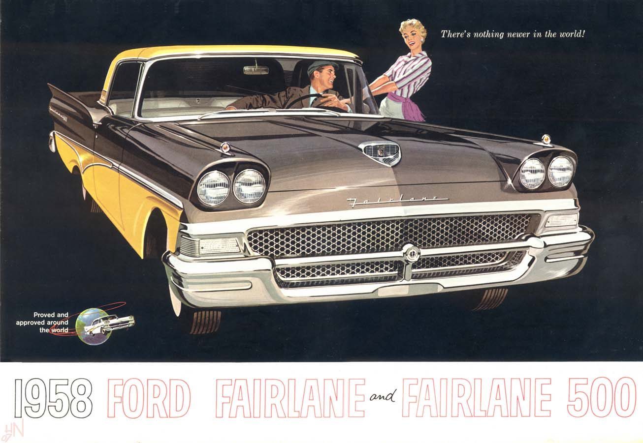 1958 Ford High Quality Background on Wallpapers Vista
