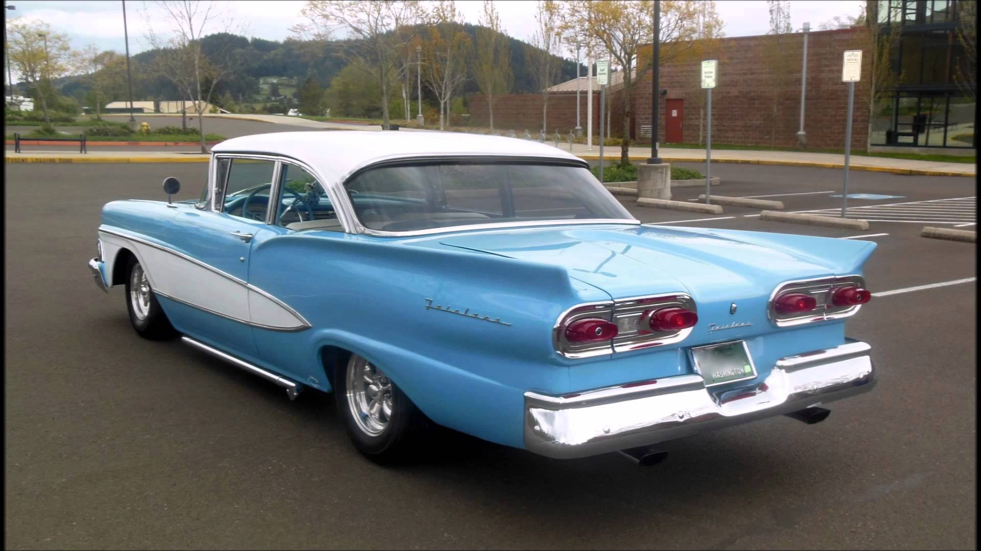 Nice wallpapers 1958 Ford 1920x1080px