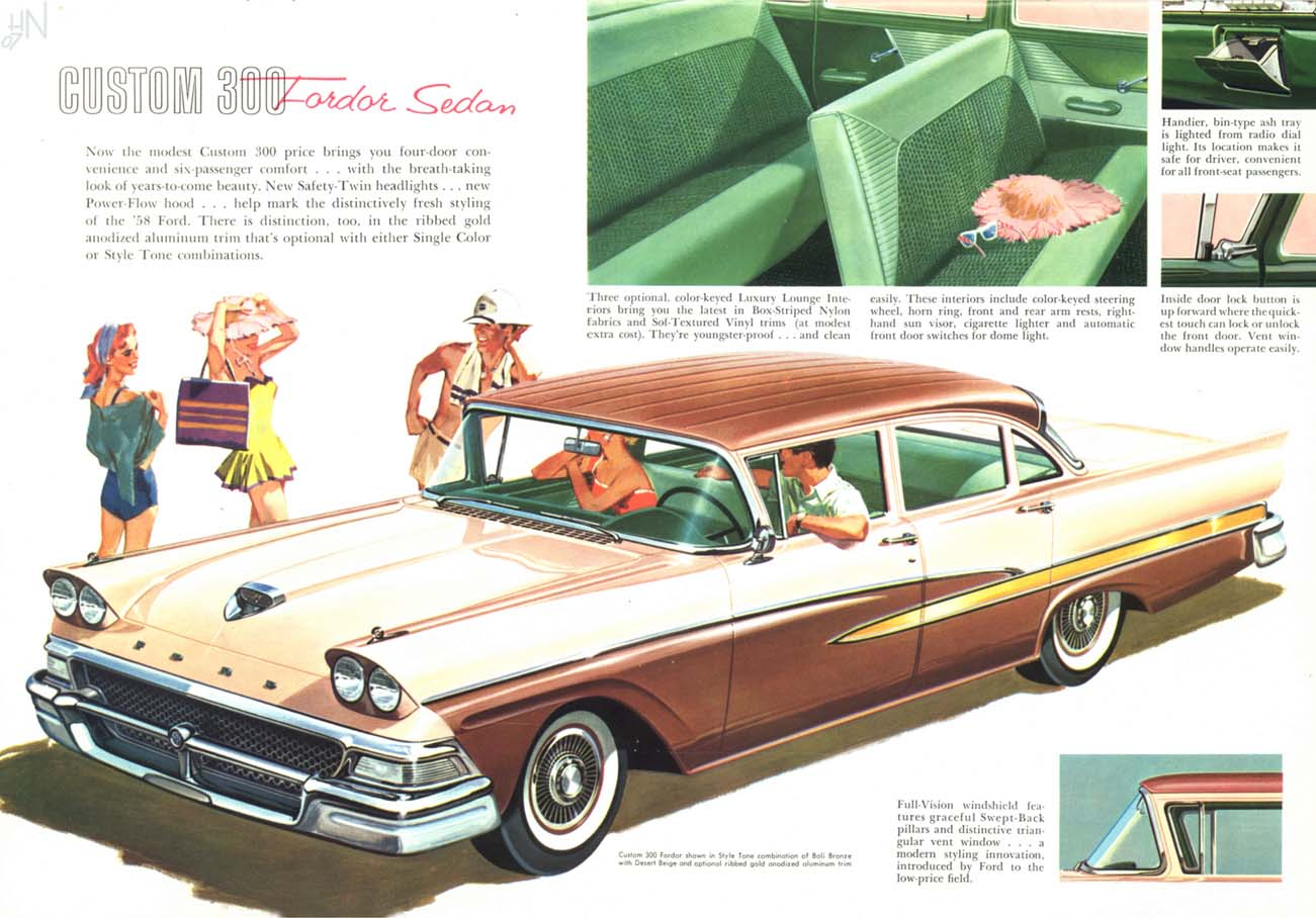 Nice Images Collection: 1958 Ford Desktop Wallpapers