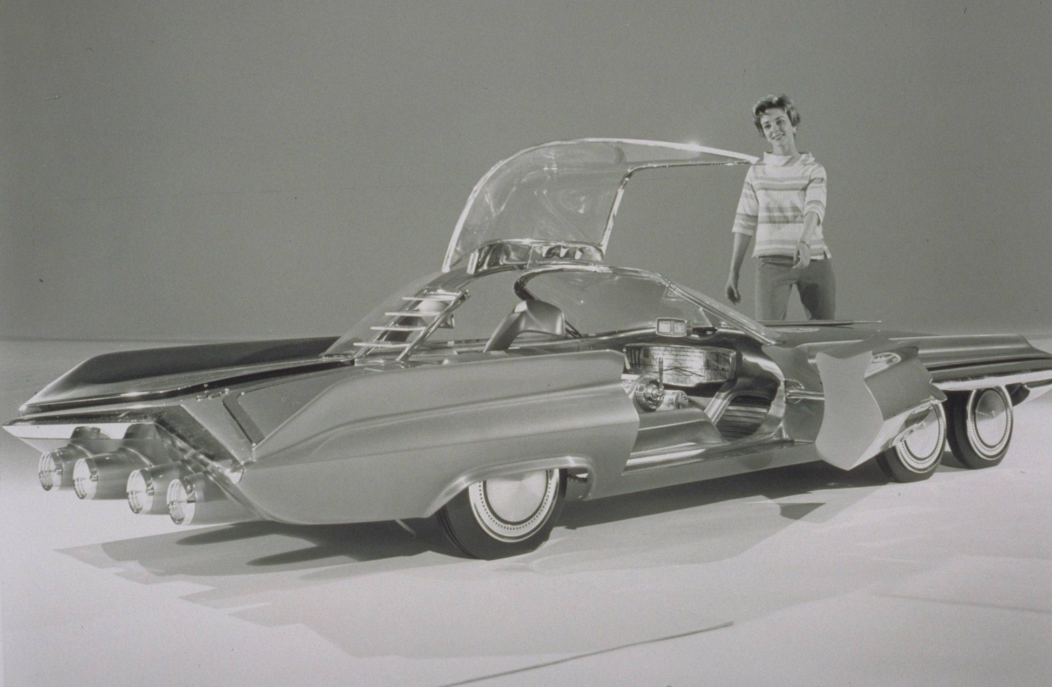 Nice Images Collection: 1958 Ford X 2000 Concept  Desktop Wallpapers