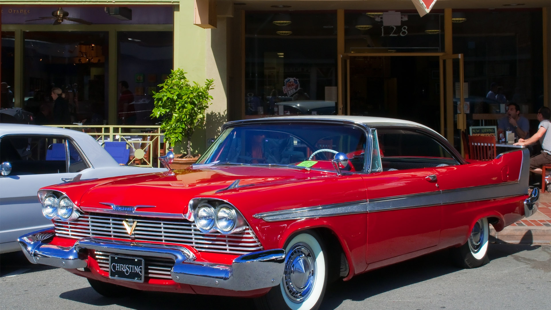 Nice Images Collection: 1958 Plymouth Fury Desktop Wallpapers