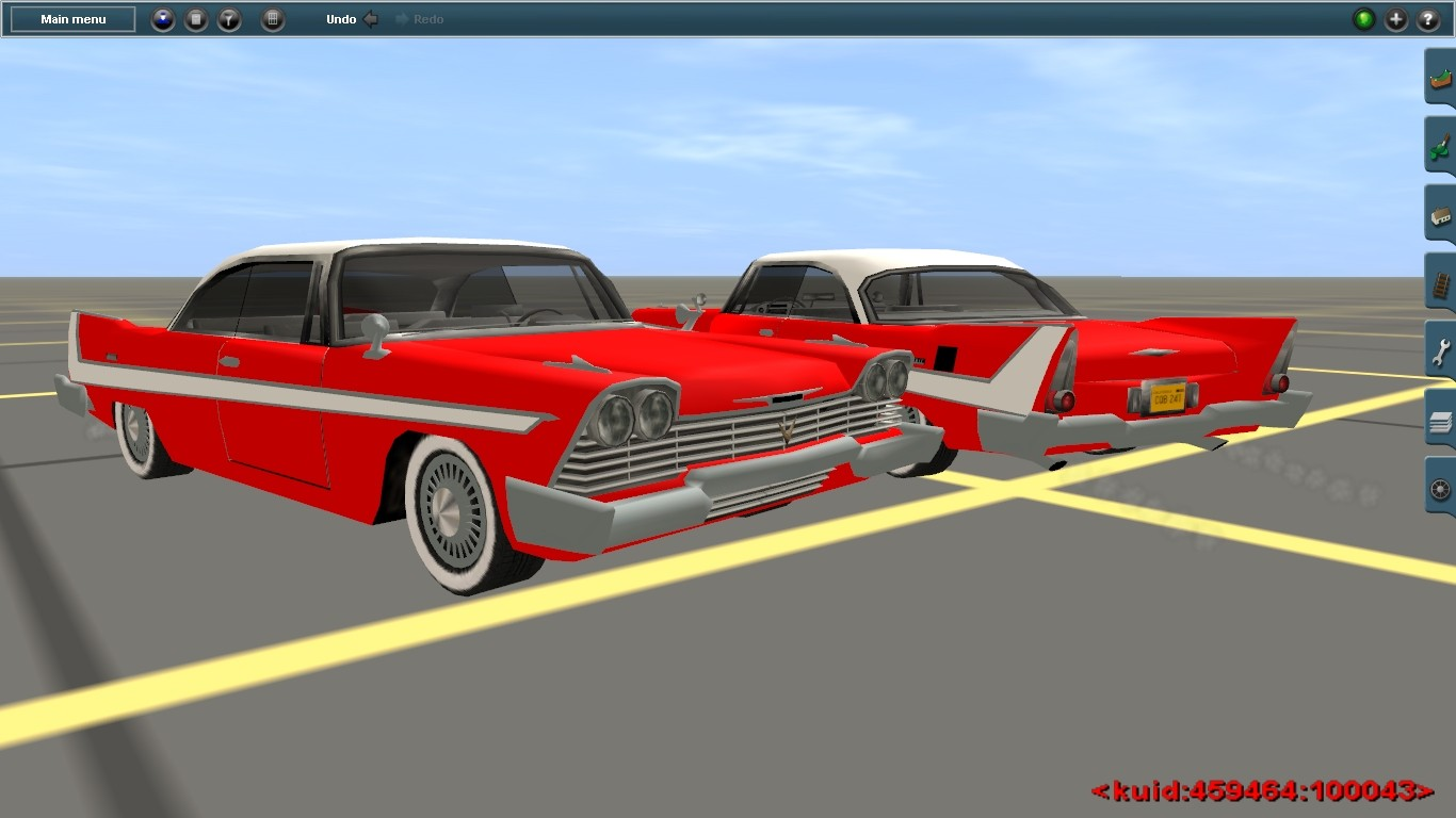 Nice wallpapers 1958 Plymouth Fury 1366x768px