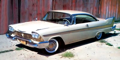 1958 Plymouth Fury Backgrounds, Compatible - PC, Mobile, Gadgets| 400x200 px