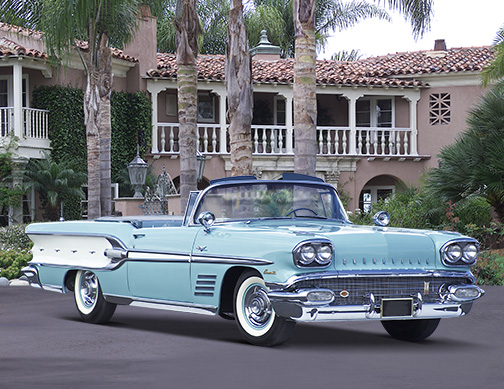 Amazing 1958 Pontiac Bonneville Pictures & Backgrounds