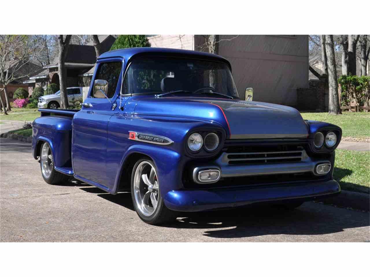 High Resolution Wallpaper | 1959 Chevrolet Apache 1280x960 px