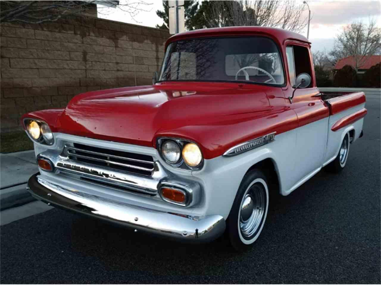 1959 Chevrolet Apache Backgrounds, Compatible - PC, Mobile, Gadgets| 1280x960 px