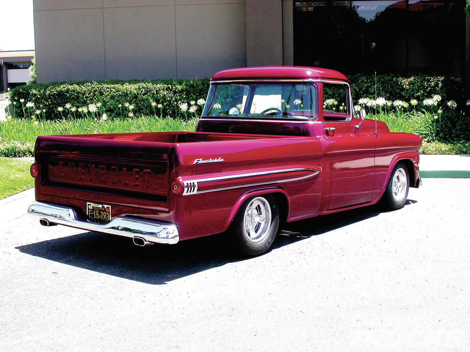 Nice Images Collection: 1959 Chevrolet Apache Desktop Wallpapers