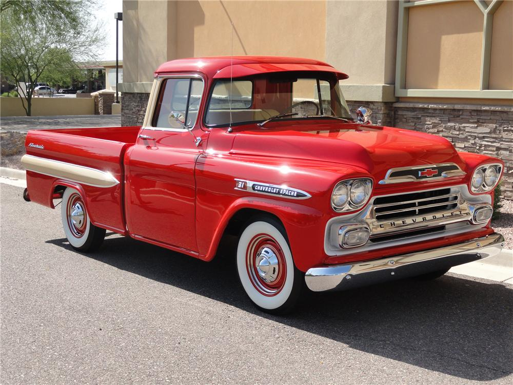 1000x750 > 1959 Chevrolet Apache Wallpapers