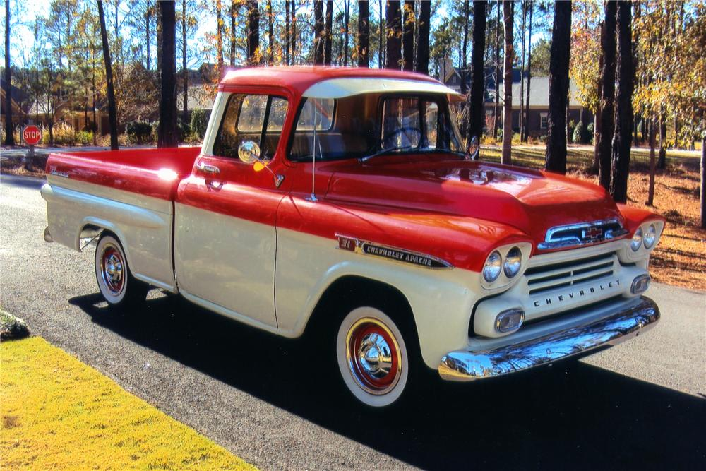 HD Quality Wallpaper | Collection: Vehicles, 1000x667 1959 Chevrolet Apache