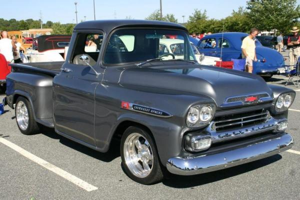HD Quality Wallpaper | Collection: Vehicles, 600x400 1959 Chevrolet Apache