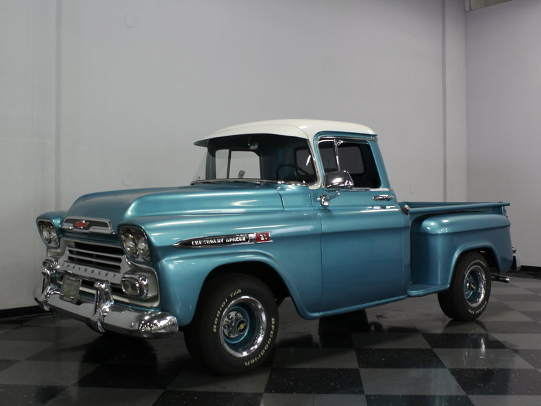HD Quality Wallpaper | Collection: Vehicles, 790x593 1959 Chevrolet Apache