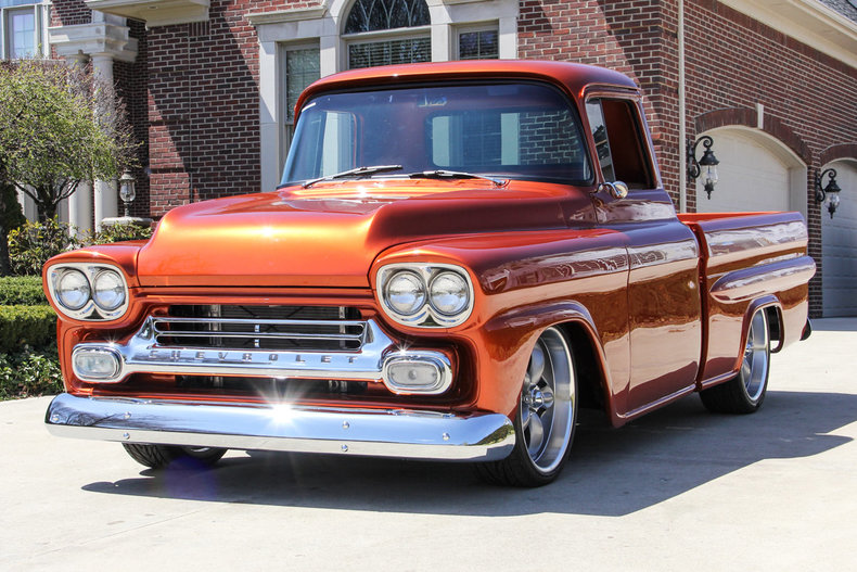 HD Quality Wallpaper | Collection: Vehicles, 790x527 1959 Chevrolet Apache