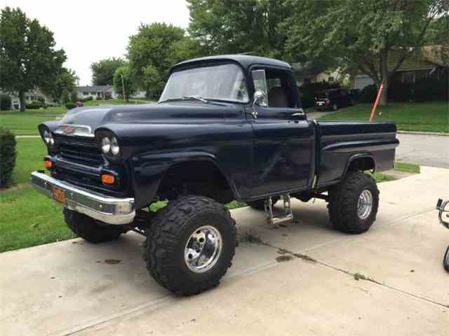 Nice wallpapers 1959 Chevrolet Apache 640x480px