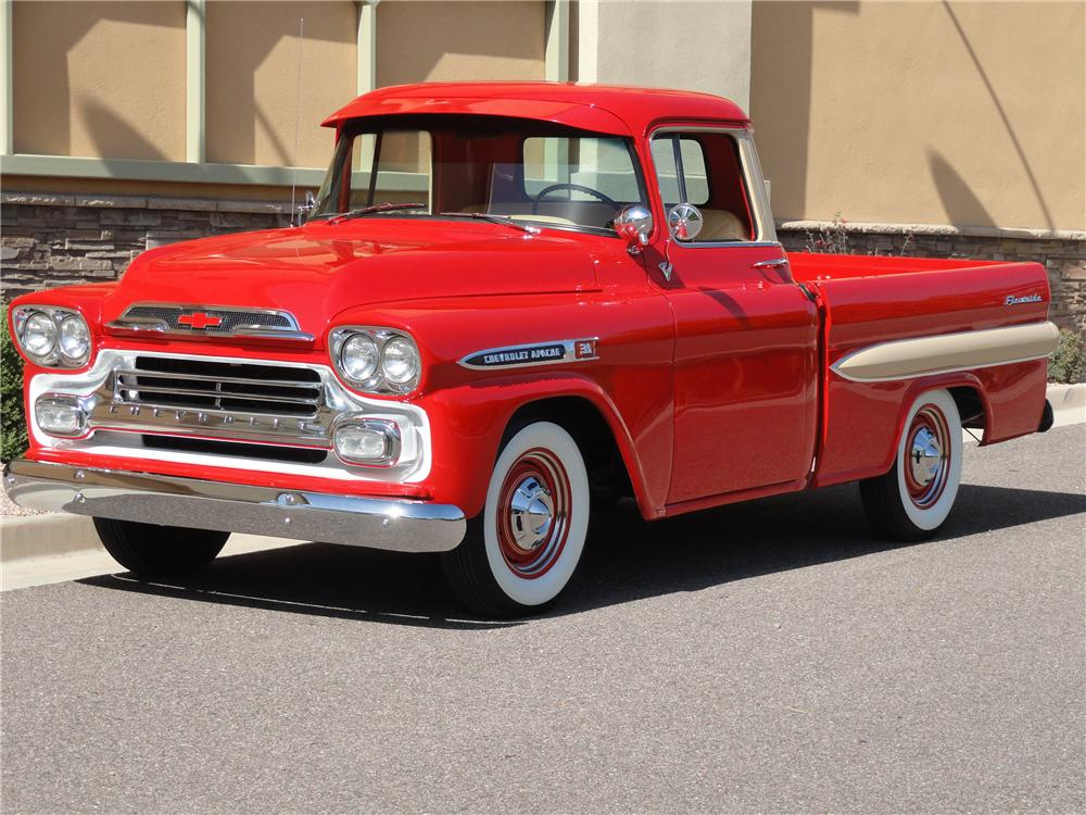 HQ 1959 Chevrolet Apache Wallpapers | File 127.51Kb