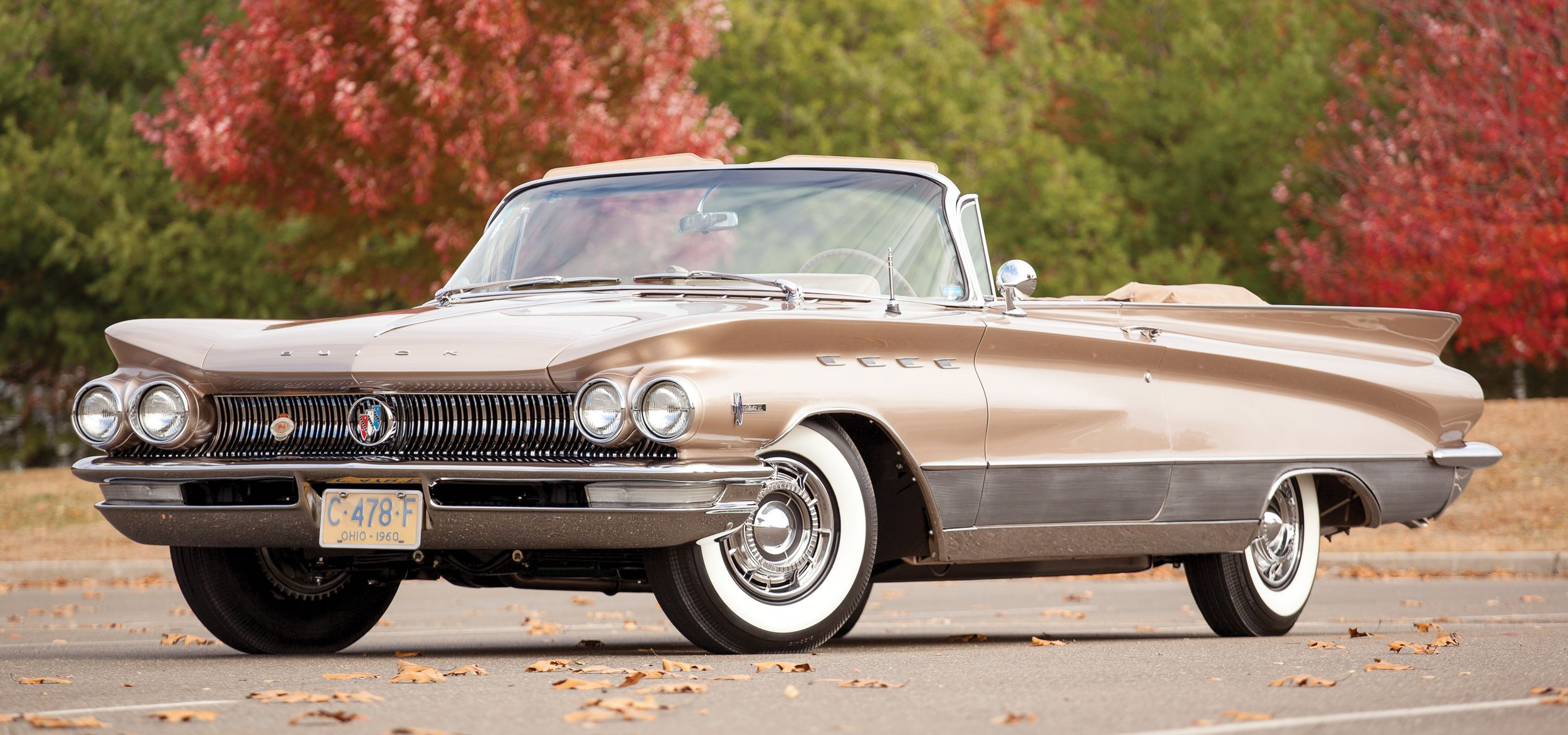 HD Quality Wallpaper | Collection: Vehicles, 2500x1173 1960 Buick Electra