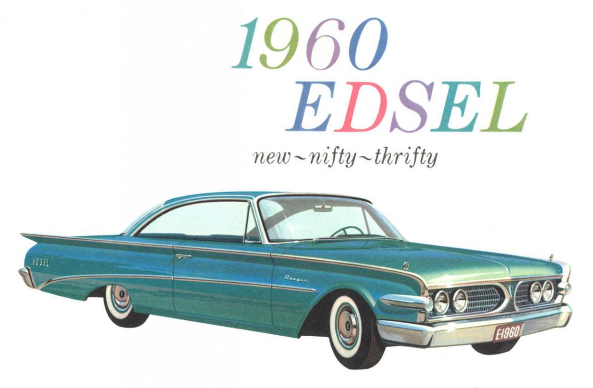 High Resolution Wallpaper | 1960 Edsel 1200x787 px