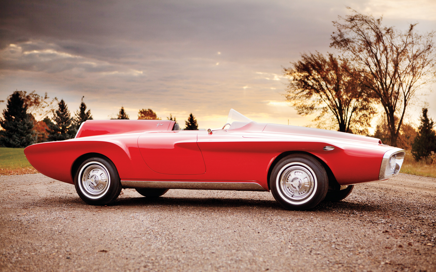 Nice Images Collection: 1960 Plymouth XNR Desktop Wallpapers