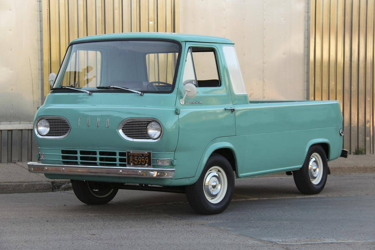1961 Ford Econoline Backgrounds on Wallpapers Vista