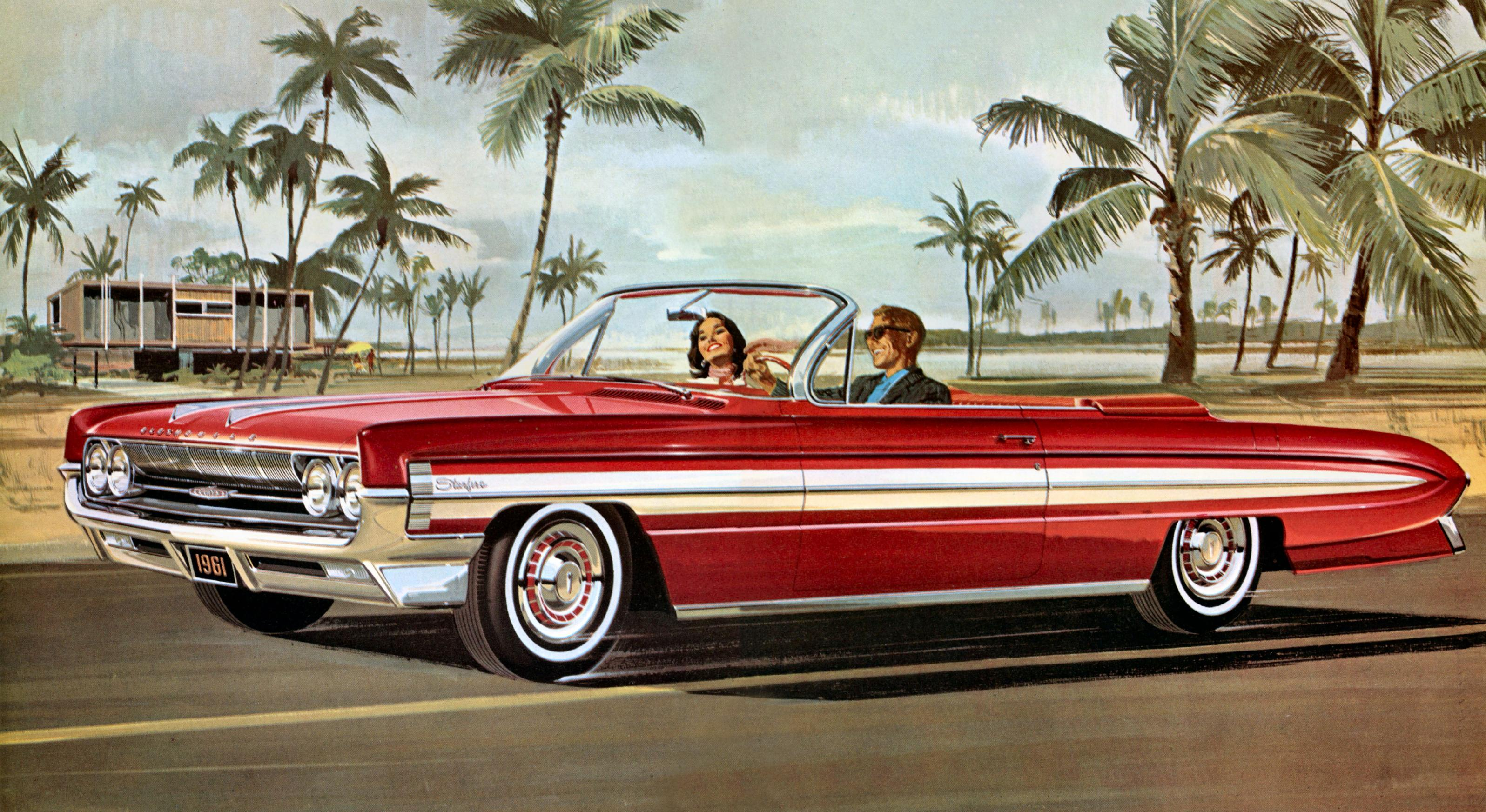 High Resolution Wallpaper | 1961 OLDSMOBILE STARFIRE 3193x1745 px
