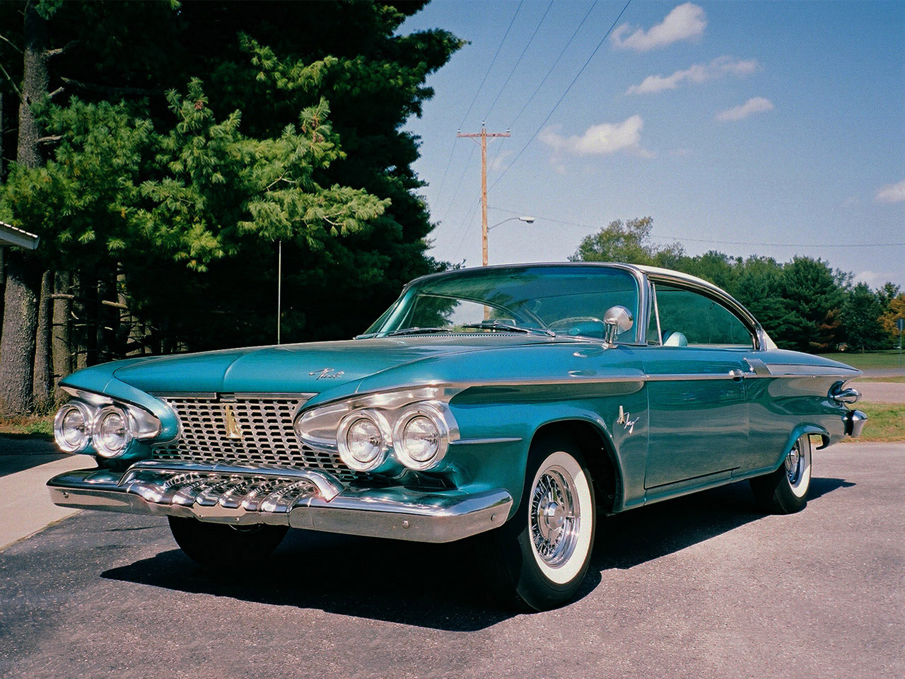 1961 Plymouth Fury Coupe Backgrounds, Compatible - PC, Mobile, Gadgets| 1280x960 px