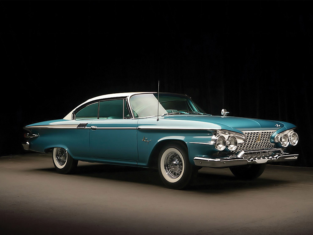 HD Quality Wallpaper | Collection: Vehicles, 1024x768 1961 Plymouth Fury Coupe