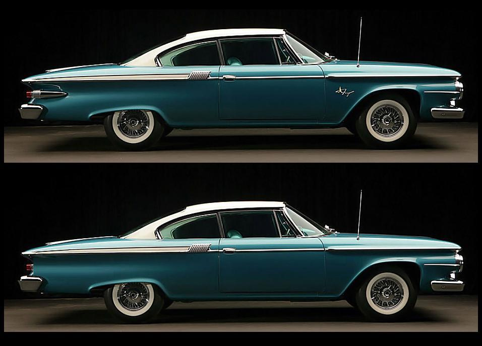 Nice Images Collection: 1961 Plymouth Fury Coupe Desktop Wallpapers