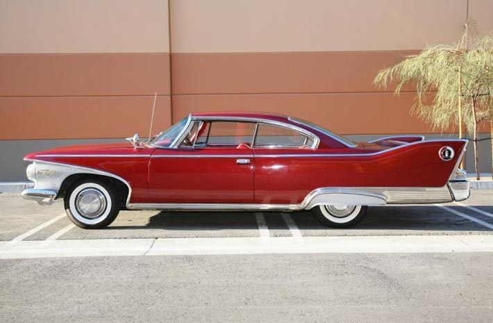 1961 Plymouth Fury Coupe Backgrounds on Wallpapers Vista