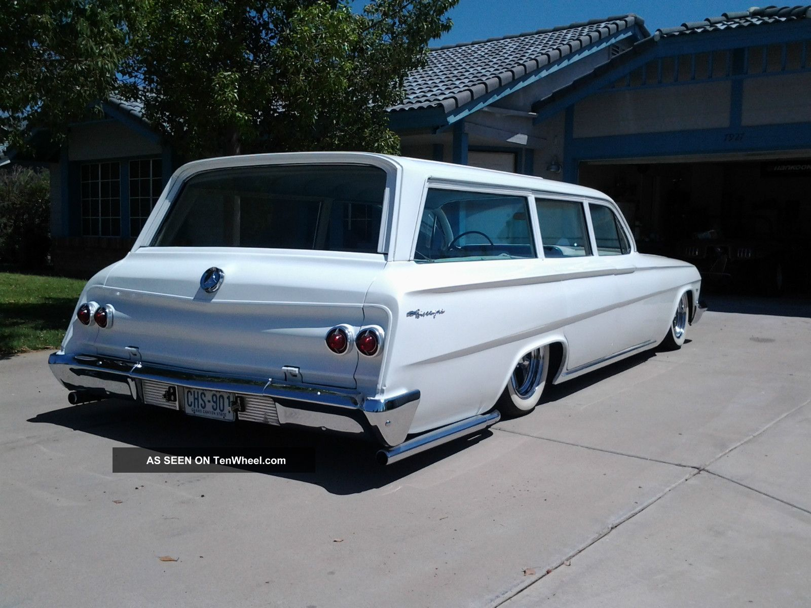 1962 Chevrolet Four-door Wagon Backgrounds, Compatible - PC, Mobile, Gadgets| 1600x1200 px