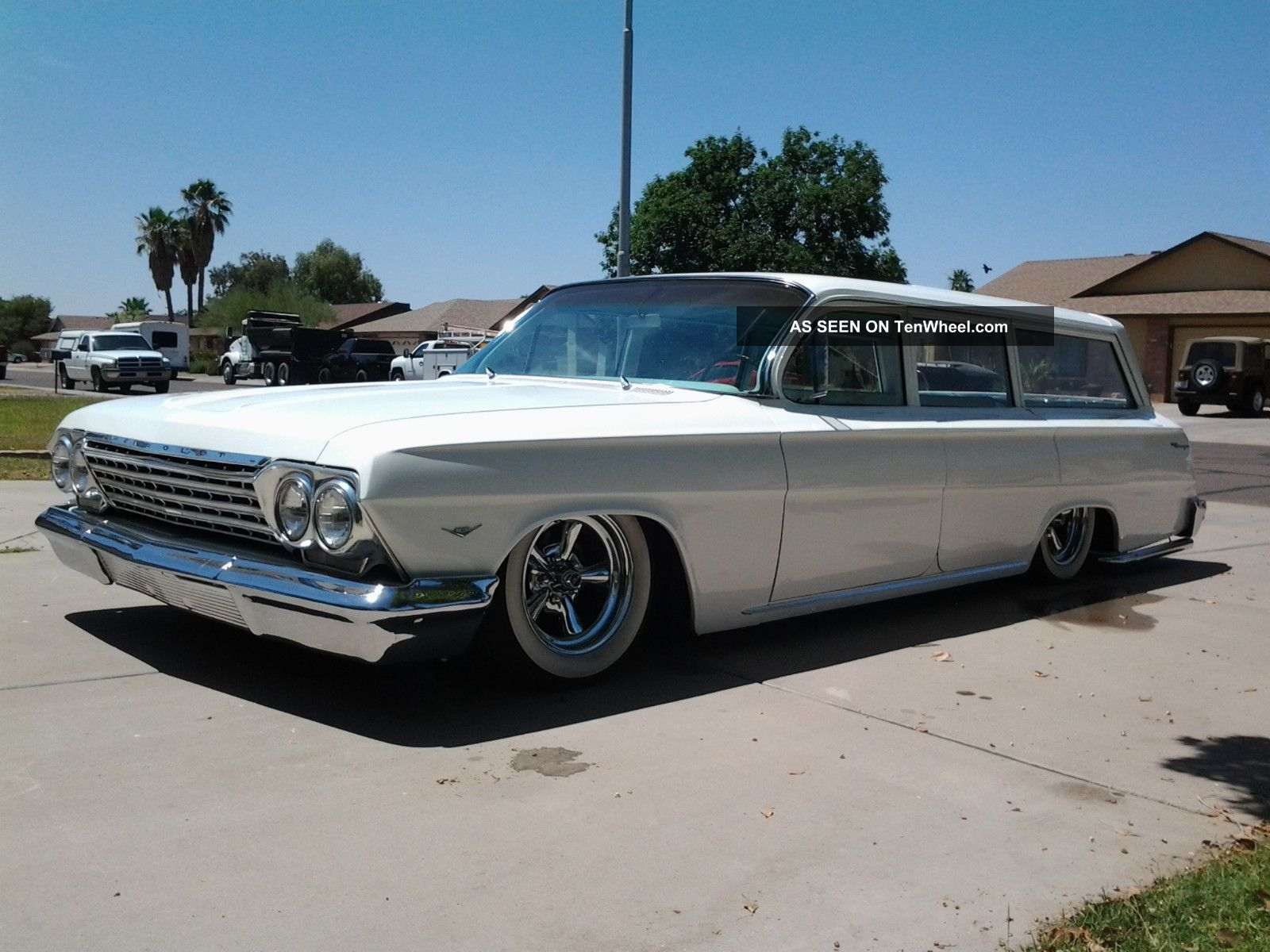 Amazing 1962 Chevrolet Four-door Wagon Pictures & Backgrounds
