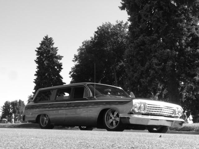 1962 Chevrolet Four-door Wagon Backgrounds, Compatible - PC, Mobile, Gadgets| 640x480 px