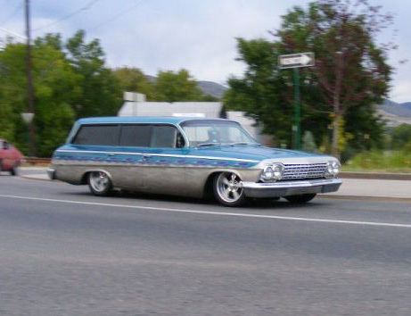 1962 Chevrolet Four-door Wagon High Quality Background on Wallpapers Vista