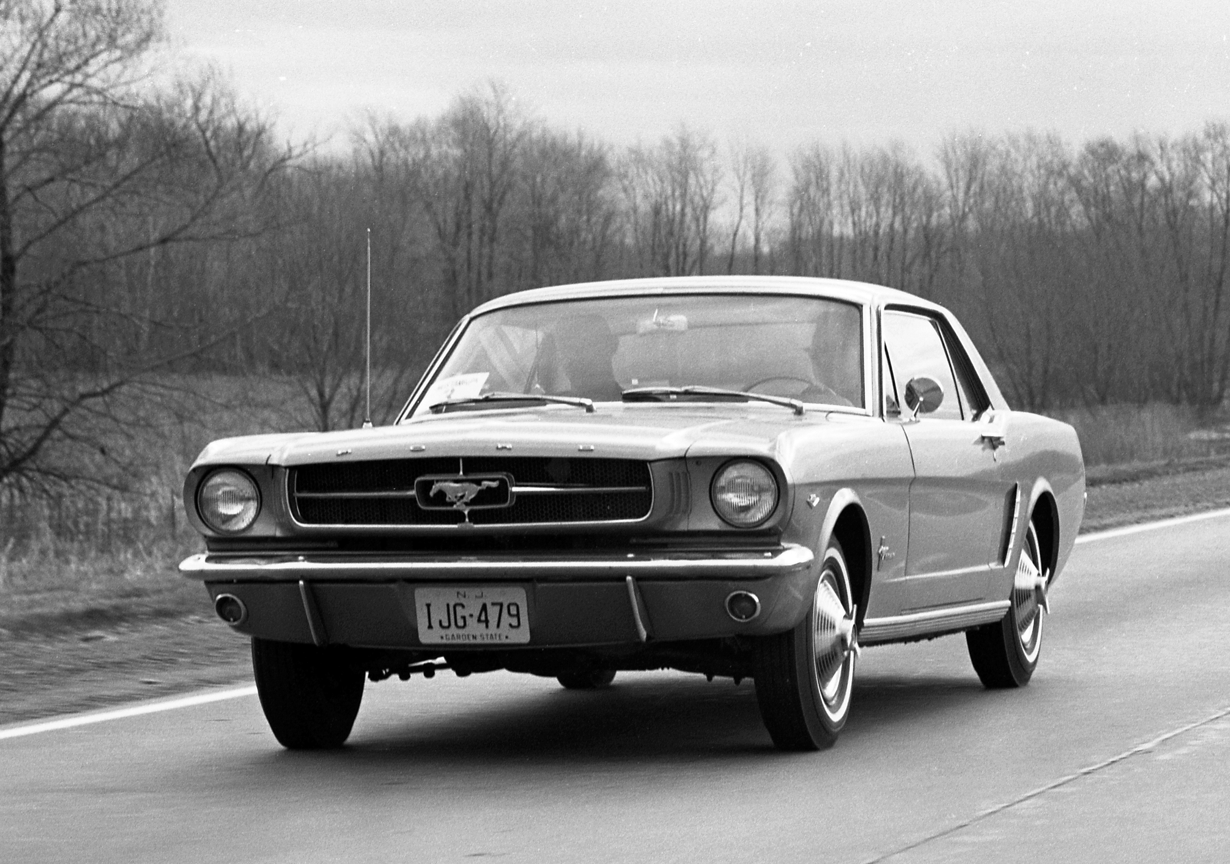 Nice wallpapers 1964 Ford Mustang 4000x2809px