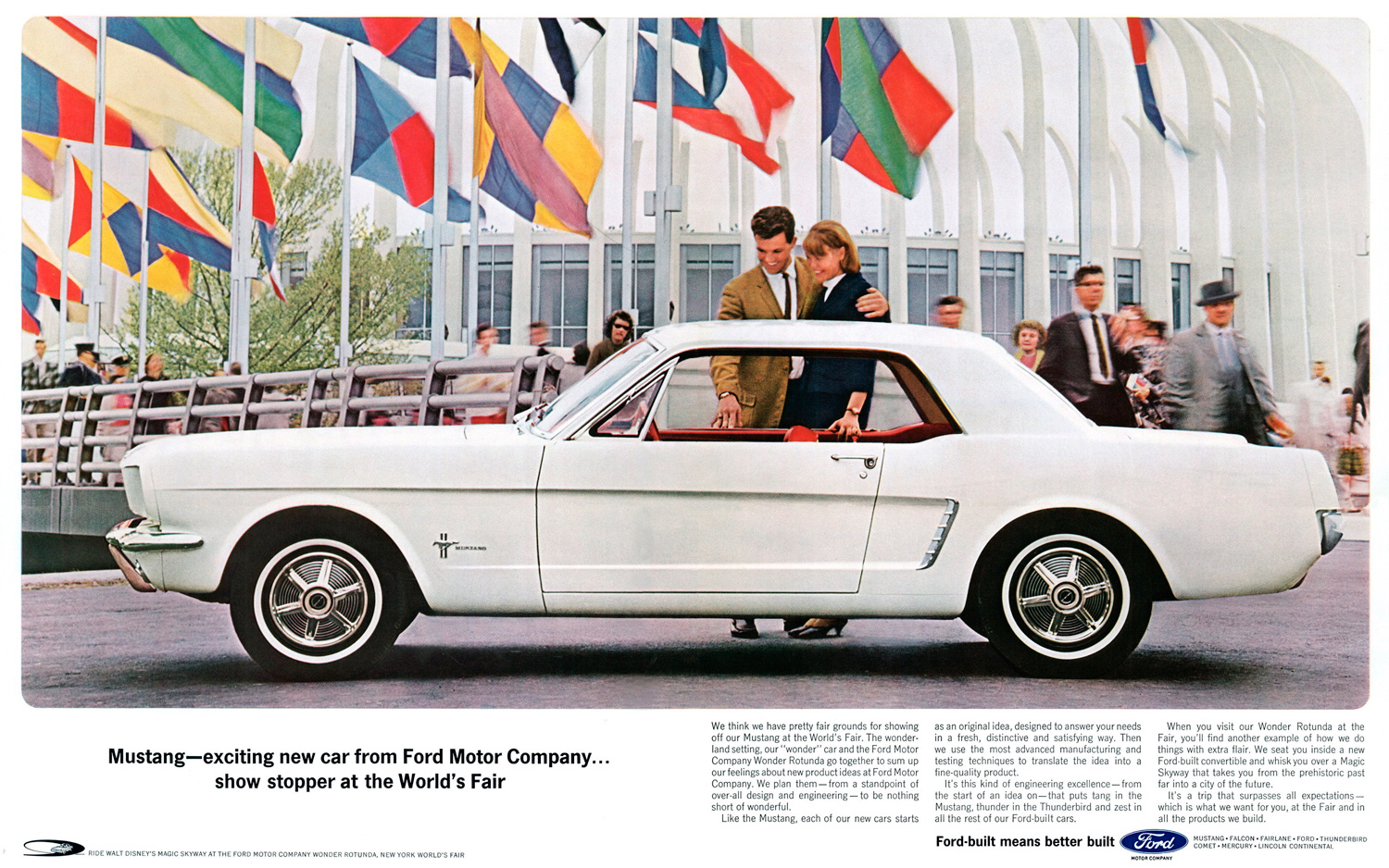 High Resolution Wallpaper | 1964 Ford Mustang 1500x938 px