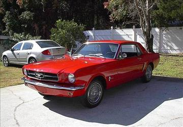 HD Quality Wallpaper | Collection: Vehicles, 360x250 1964 Ford Mustang