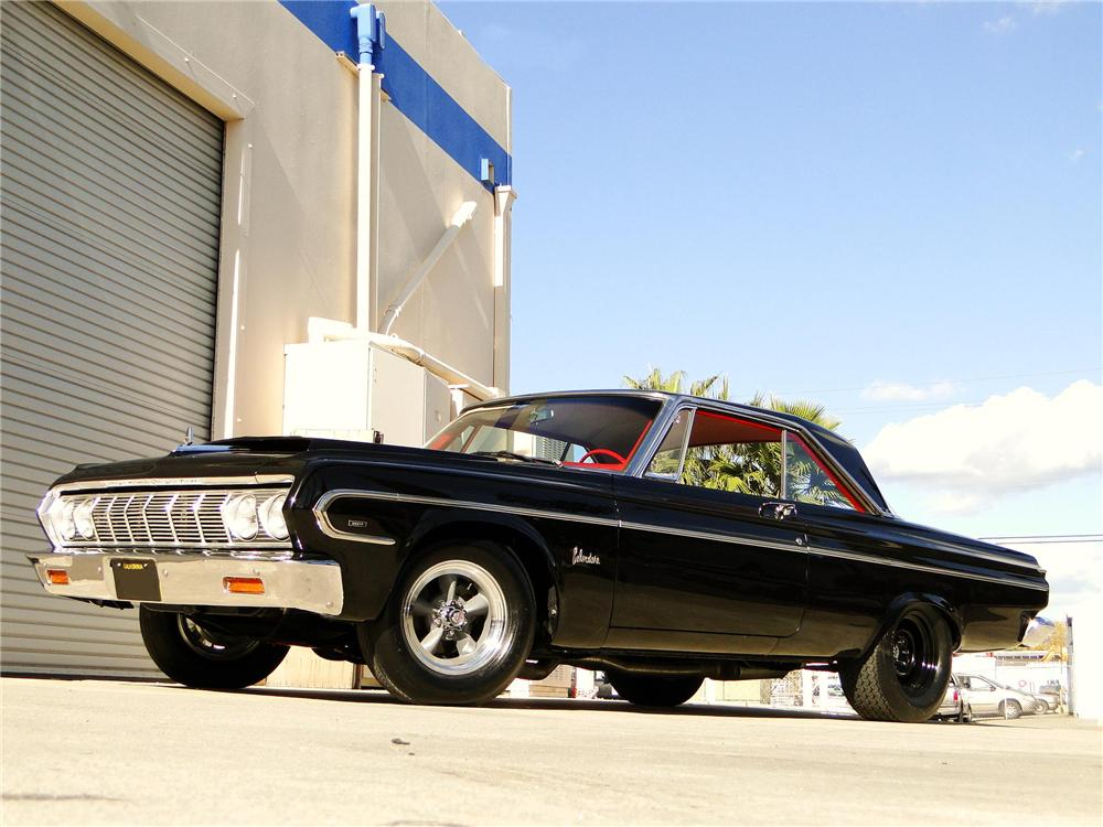 Nice wallpapers 1964 Plymouth Belvedere 1000x750px